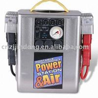 Hot selling of car 3 in 1 jumpstart with air compressor dc 12v