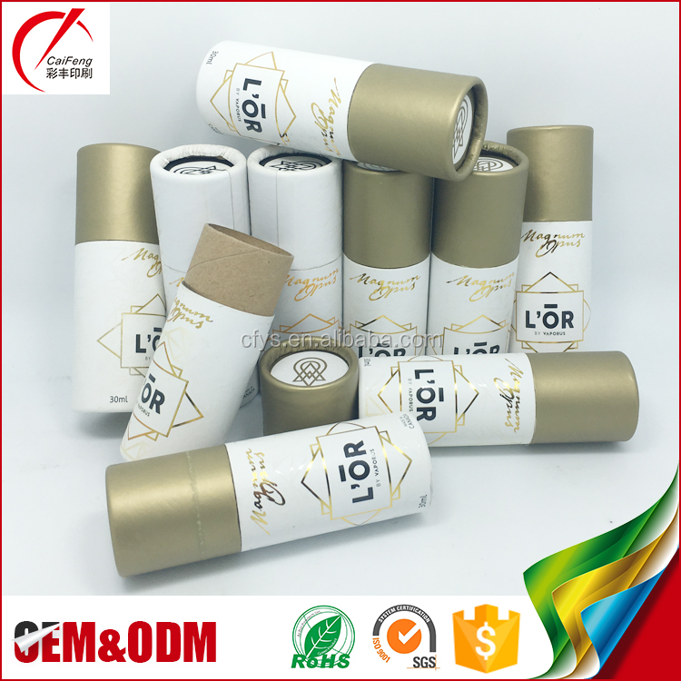 China factory direct wholesale custom logo printed cardboard round kraft paper tube box packaging
