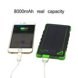 2015 new design waterproof portable solar panel, usb hand crank charger