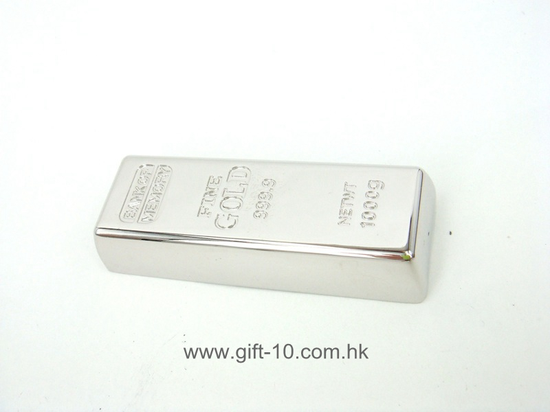 Custom novelty gold bar USB sticks