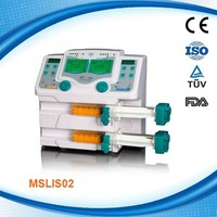 Cheapest double channel infusion Syringe Pump for hospital use MSLIS02-R