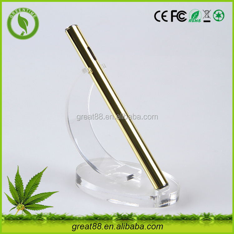 New invention flat cbd hemp oil e cig no cotton clean and healthy