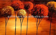 hot modern canvas abstract tree art