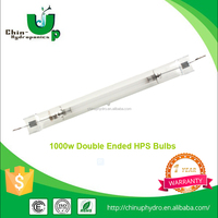 2016 new hhot sale greenhouse Hydroponics 1000W Double Ended HPS Lamp/,bulb for grow light reflector
