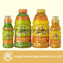 Plastic private brand printing shrink sleeve for water bottle