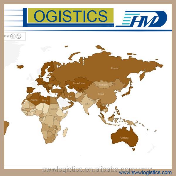 Sea freight shipping door to door service from Dongguan to Savannah USA