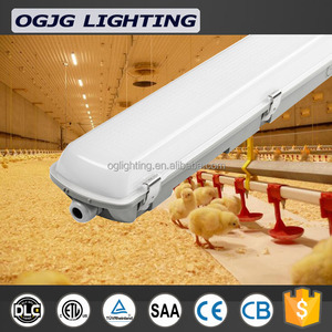 2018 best selling 6000k led linear for parking lot waterproof dust proof anticorrosion tri-proof light