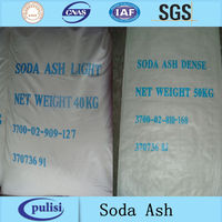 99.2% industrial soda ash / sodium carbonate / na2co3 light and dense supplier
