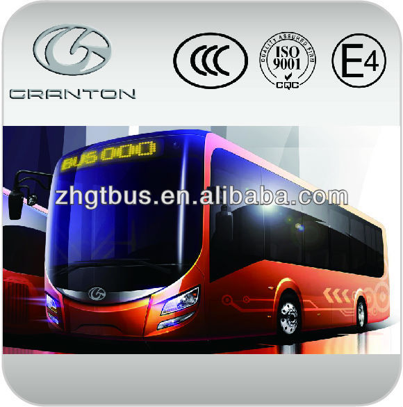 China 12m hot good price low floor european standard e-bus electric city bus