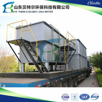 50m3/hr. industrial wastewater treatment plant, daf for sewage water cleaning
