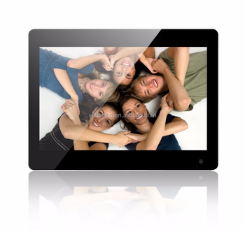 13.3 inch lcd digital photo frame 1331B-M with mounting kits
