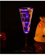 Creative induction luminescent cup of seven color LED luminous flash cup bar KTV special Cocktail cup