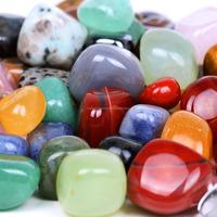 Wholesale colorful Large size tumbled polished stone