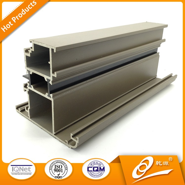 Supply aluminum extrusion profile to make window