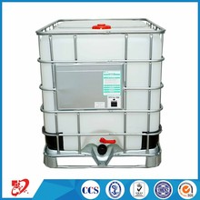Top quality plastic IBC tank with steel cage outside