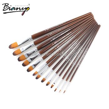 Wholesale artist paint brushes set nylon brushes set buy for Wholesale craft paint brushes