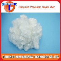 pet bottles recycled polyester fiber, hcs polyester staple fiber padding