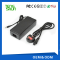 TengShun LED indicator 24v / 29.4v 36v / 42v 3a li-ion battery charger 36v with EU US UK AUS Korea Plugs