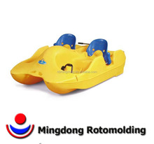 Rotomolding plastic rowing boat for sale