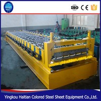 Color Steel Roof Panel Forming Line/Roof Panel Rolling Forming machine /trapezoid profile iron sheet metal tile machine