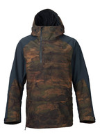 camo colorful ski&snowboard pullover jacket