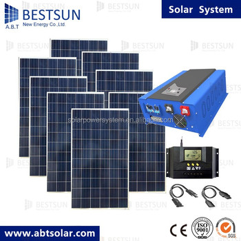 BESTSUN 8000W China supplier solar energy system 8KW