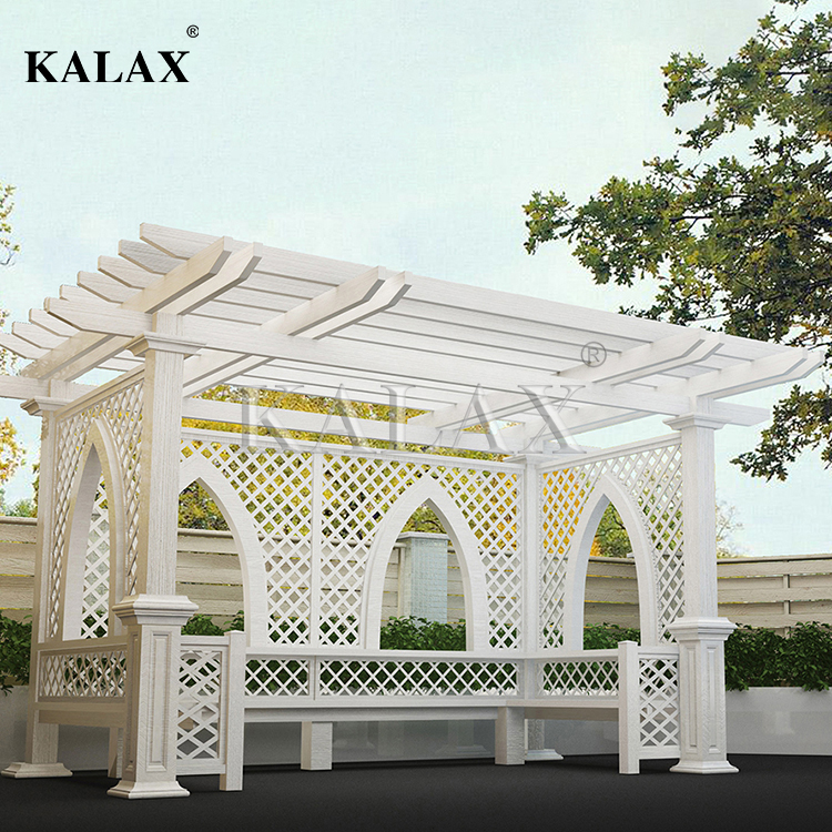 Upgraded Aluminum Covered Pergola patio with UV protection and best factory cost