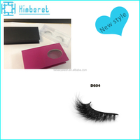 Top sale 3D mink eyelash false eyelash top grade custom eyelash