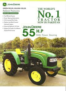JD 5055 B tractor