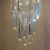 New Glass Triangle Crystal Chandelier