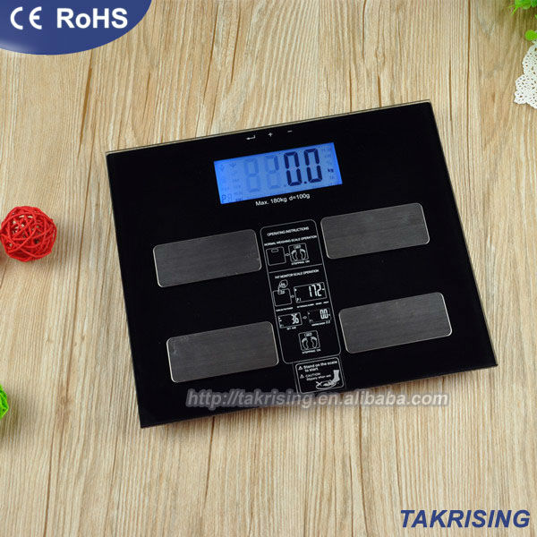150kg/180kg Body Composition Analyzer With Scale