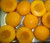 Canned yellow peach halves choice quality 425g in light syrup
