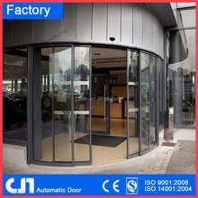 Glass Automatic Curve Door( CE approve )