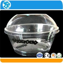 Hot selling cupcake packing clear hard plastic boxes