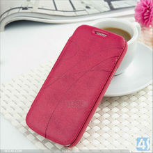 PU Leather Protective Cover Stand Case for Samsung i9190 Galaxy S4 Mini P-SAMI9190CASE016