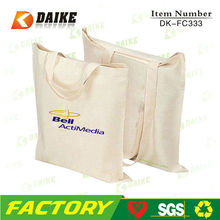 Eco-friendly Reusable Canvas Craft Tote Bags DK-FC333