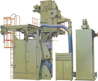 QXY series steel pretreatment line used sandblasting equipment for sale
