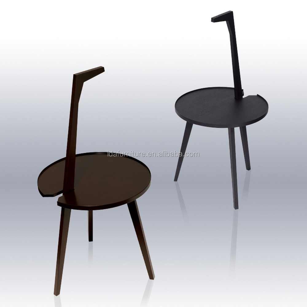 Modern solid ash wood side table buy cassina 834 for Small modern side table