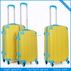 New style Trolley abs Luggage and travel bag with 360 degree wheels