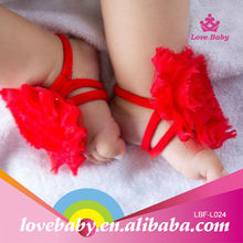 Wholesale Beauty Baby Sandals Toddler Flower Shoes