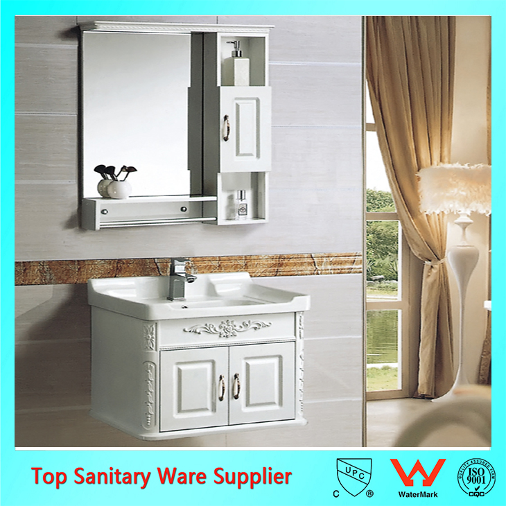 Popular Design Double Door Stainless Steel Hotel Bathroom Vanity