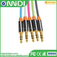 Gold plated Digital Audio Cable 1m cable audio transmission usb to 3.5mm audio cable