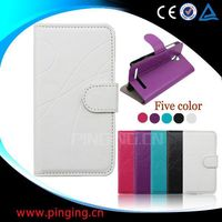 2014 New Case Design Fashion Luxury Leather Flip Case for Samsung Galaxy Mega 2 G7508