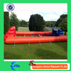 Inflatable Sports Games , Human Foosball Inflatable, inflatable human foosball court