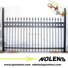 PVC Coated Ornamental Wrought Iron Fence For Sale
