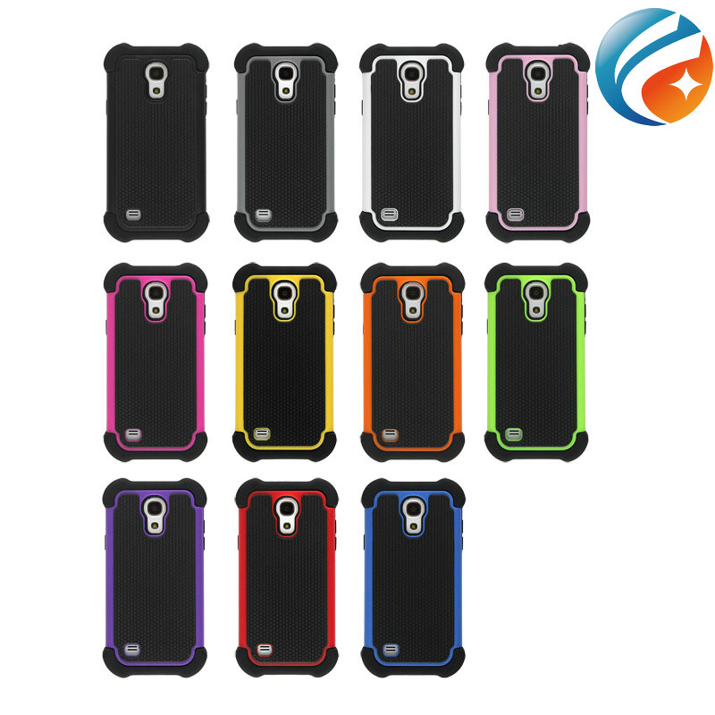 Basketball Pattern 3IN1 Hybrid Impact Cover Heavy Duty Case for Samsung galaxy s4 mini i9190