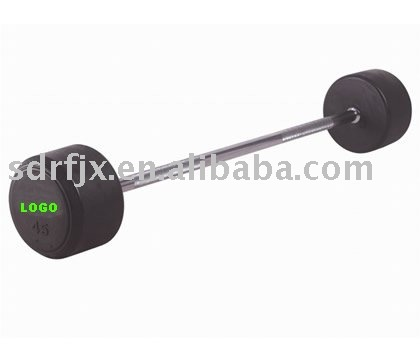 fix rubber barbell