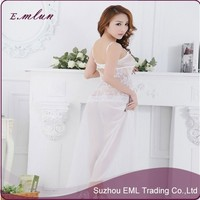 Women sexy hot transparent lace nighty