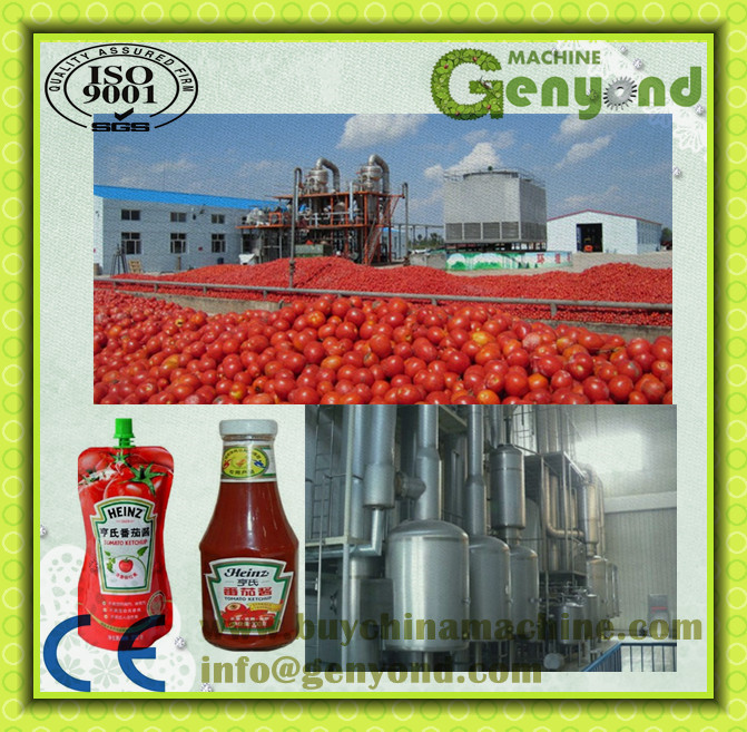 Small and Medium sized production for Tomato Paste /Jam/juice production line /machine/equipment