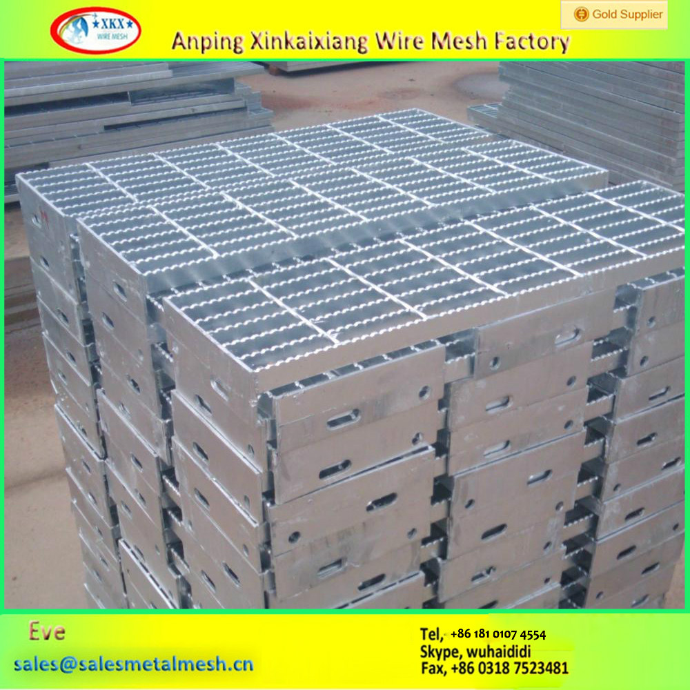Hot Dipped Galvanized Steel catwalk steel Gratings webforge serrated grating